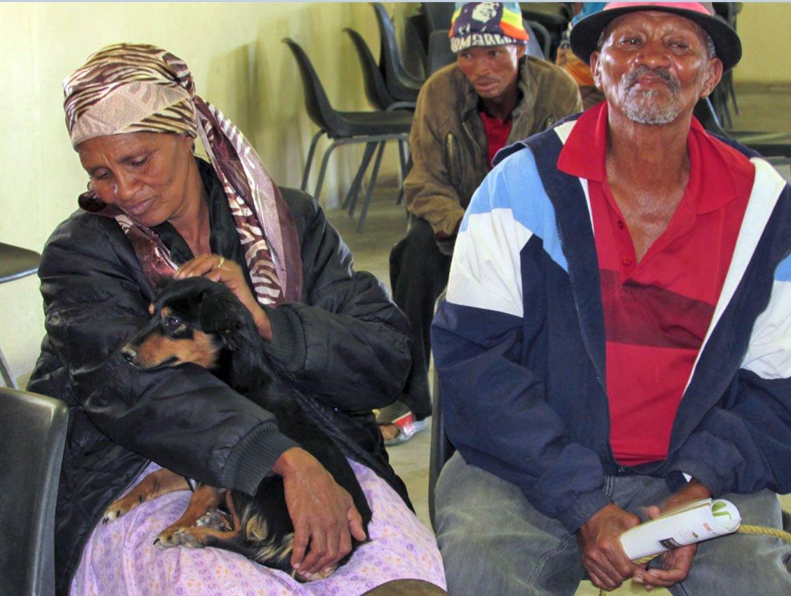 Namibian couple